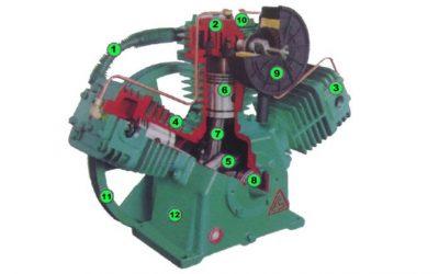 Bagian Kompresor Piston